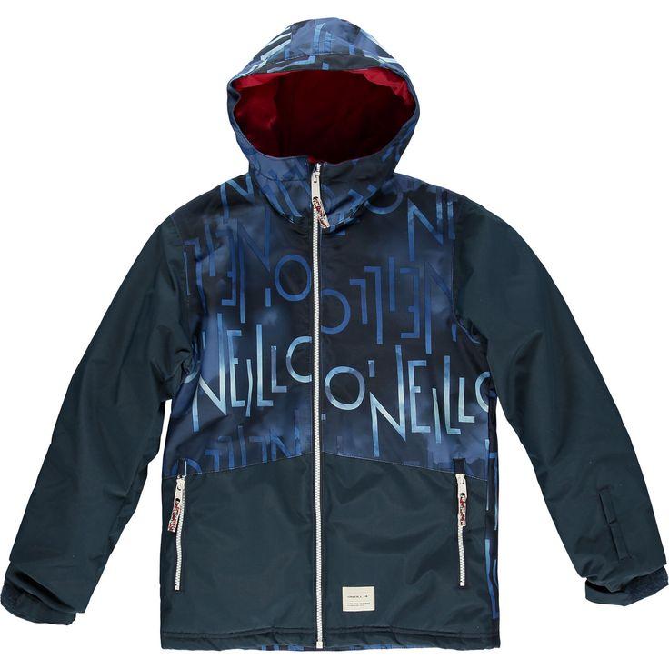 O'Neill Hubble Ski Jacket Blauw Ski Jas / Snowboard Jas Insulated