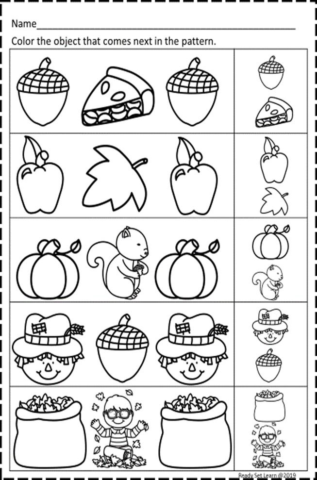 Fall Math Worksheets Fall Math Math Worksheets Math