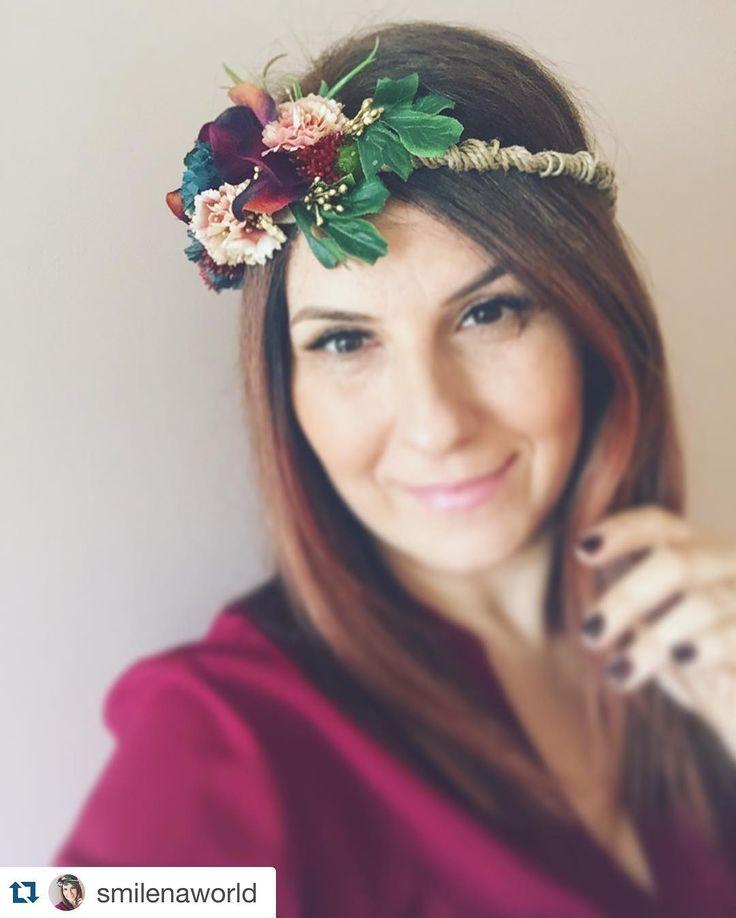 Boho Style Flower Crown