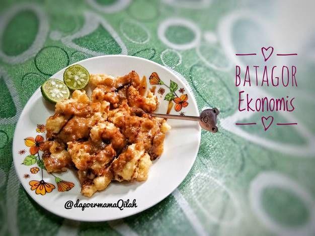 Resep Batagor Ekonomis Ala Abang2 Oleh Nhunu Kitchen Resep Masakan Indonesia Masakan Resep Makanan