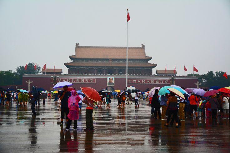 Beijing, the Gate of heavenly peace and Tiananmen square, photographer-Tereza Večerková