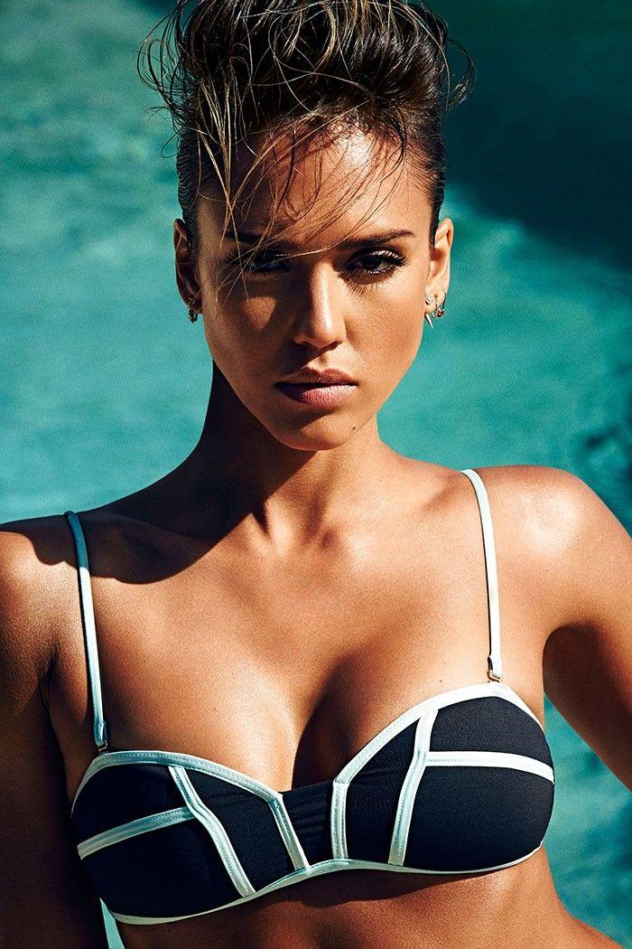 Jessica Alba - May 2015 Shape Magazine - Secrets for Looking Fierce in a Bikini