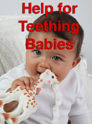 How to recognize the signs of teething, and advice on giving your baby some relief