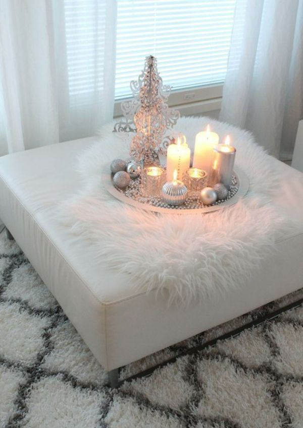 In winter, you can furnish your apartment Scandinavian