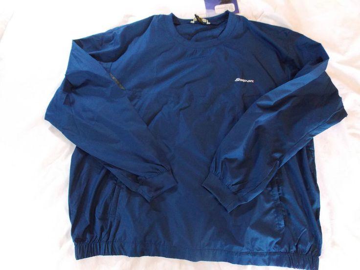 3XL Snap On Tools Windbreaker Rain Jacket New Coat Rainwear XXXL 3XL Pullover  #NorthEnd #Rainwear