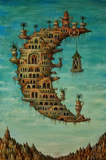 Ciutats imaginàries de Sergey Tyukanov / Ciudades imaginarias / Imaginary Cities of Sergey Tyukanov