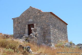 St George in Chora Castle on the island of Kalymnos |Discovering Kos and the surrounding islands