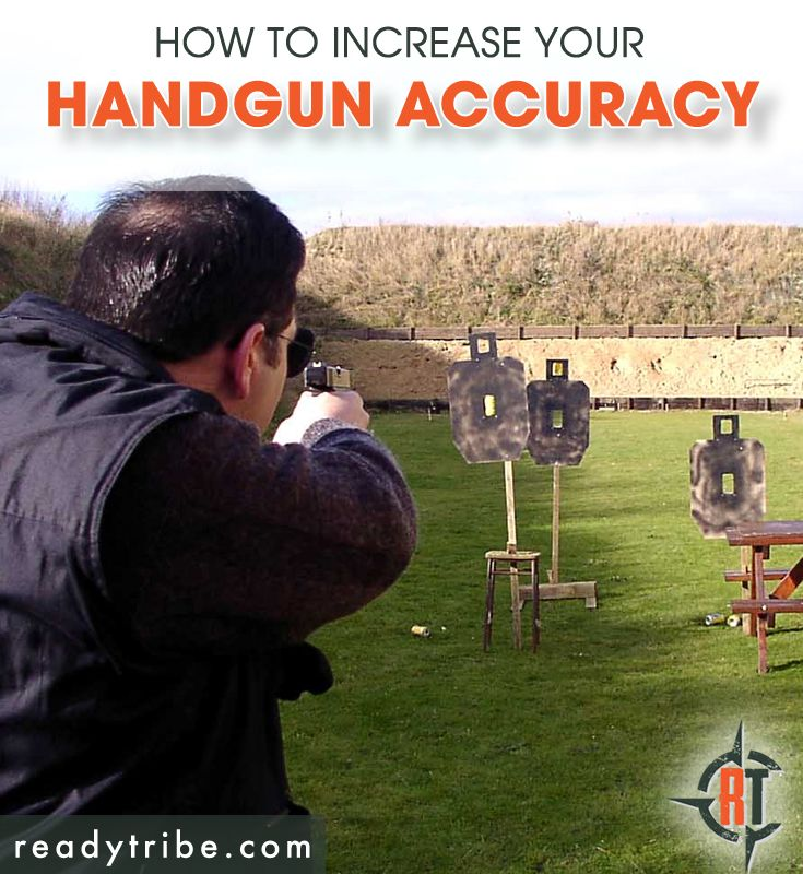 Are you having problems with your pistol shooting accuracy? Becoming a good marksman doesn't happen over night. You need to practise regularly and know what to change about your technique in order for it to improve. Luckily for you, Ready Tribe has got you covered! http://www.readytribe.com/pistol-shooting-tips/