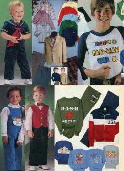 1982 kids fashion