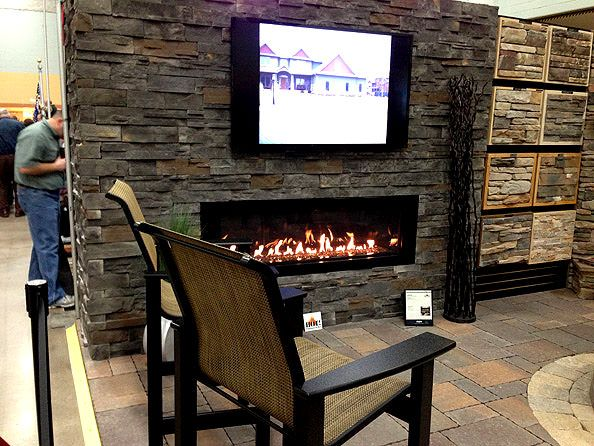 Restaurant Rock Wall With Tv Google Search Lcc Pinterest Wall Fireplaces Tvs And Salsa