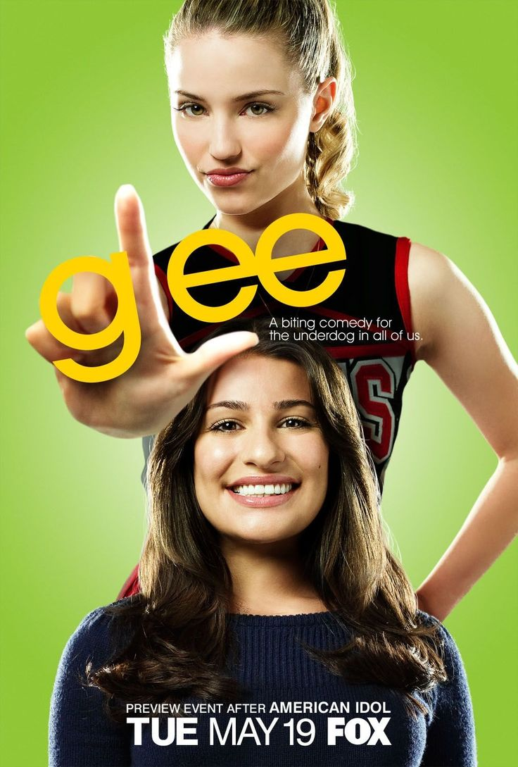 Image result for glee poster loser