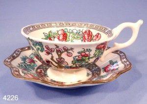 Coalport Antique Indian Tree Vintage Bone China Tea Cup and Saucer