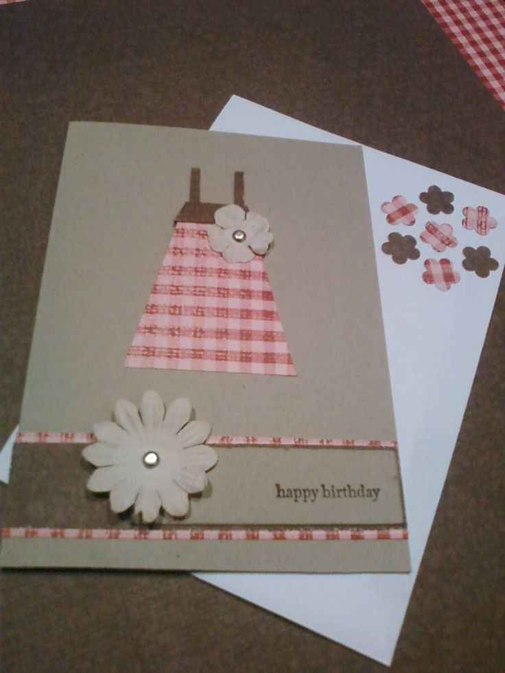 Girl birthday card, Embellished with Sentiment, Rebecca Doumouras