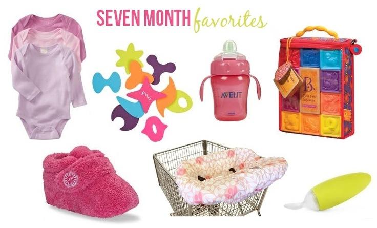 Little Baby Garvin: Seven Month Favorites