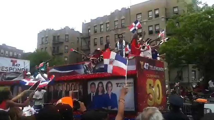 dominicana cardi b | DOMINICAN PARADE . - YouTube