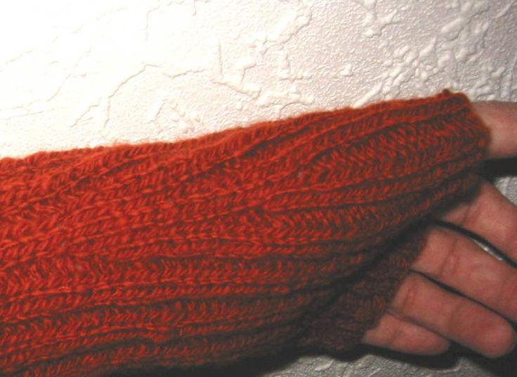 Stricknetz  -Handstulpen- Rund um die Themen Stricken, Maschinestricken, Strickmaschine, Wolle, Strickbücher, Maschinenstricken
