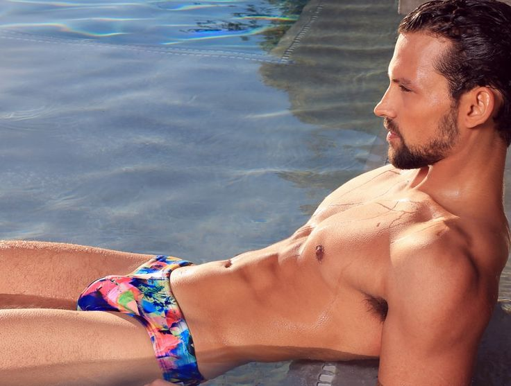 See how we got this shot of our CX06 Kaleidoscopic swimwear briefs