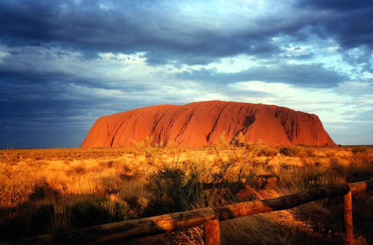 Uluru, Australia  Known more commonly as Ayers Rock, Uluru is a sandstone rock that is 1,145 feet tall and has a circumference figure of almost 6 miles.  A World Heritage Site and part of the Uluru – Kata Tjuta National Park, Uluru is considered to be one of the most beautiful sites in Australia, largely because of its unusual rock formations and sacredness to the Aboriginal people of the surrounding area.