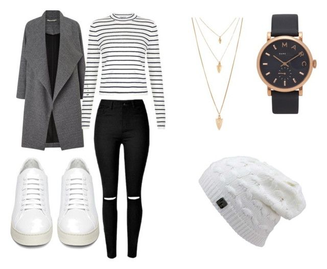 Winter chic by creece-massoudi on Polyvore featuring polyvore, fashion, style, New Look, Miss Selfridge, Off-White, Marc Jacobs, Forever 21 and clothing