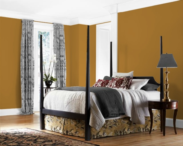 Bedroom Sherwin Williams Butterscotch Sw6377 Decorating