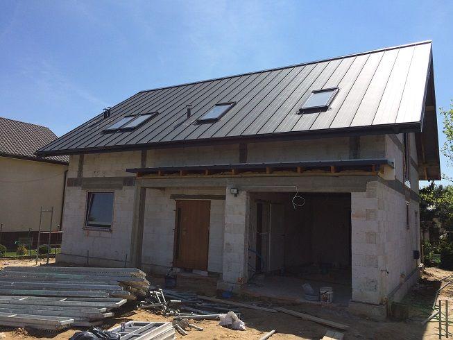 Projekt Albatros  #dach #ściany #elewacje #budowa
