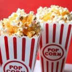 Cheesy Movie Popcorn - the cheesiest recipe you'll find! My new obsession!
