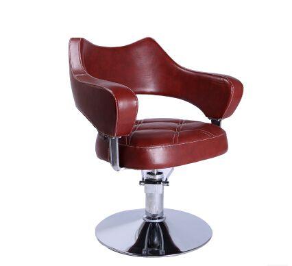 Nuevo estilo de gama alta de algodón silla de barbero peluquería dedicado. el ascensor fabricantes que venden peluquería corte de pelo silla
