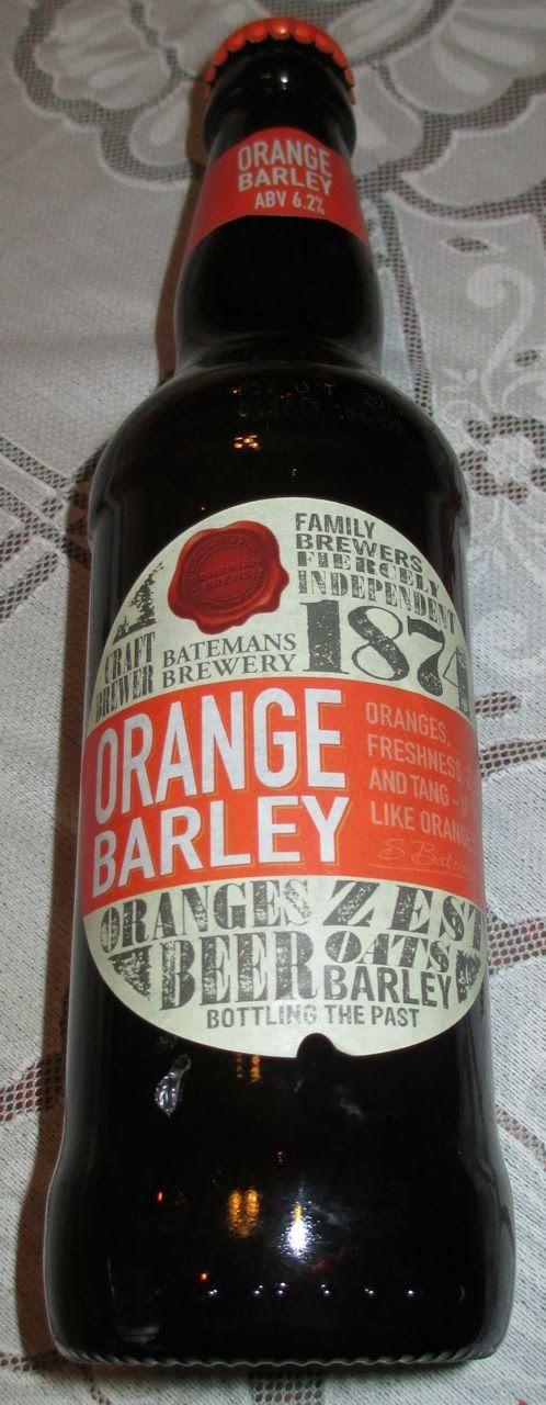 Foodstuff Finds: Orange Barley Beer (@BatemansBrewery) [By @SpectreUK]