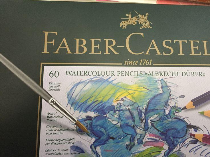 Watercolor pencil: 7 ways to use Albrecht Dürer Watercolor Pencils