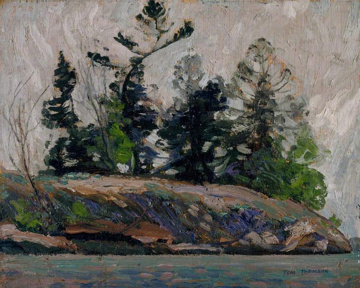 National Gallery of Canada | West Wind by Tom Thompson