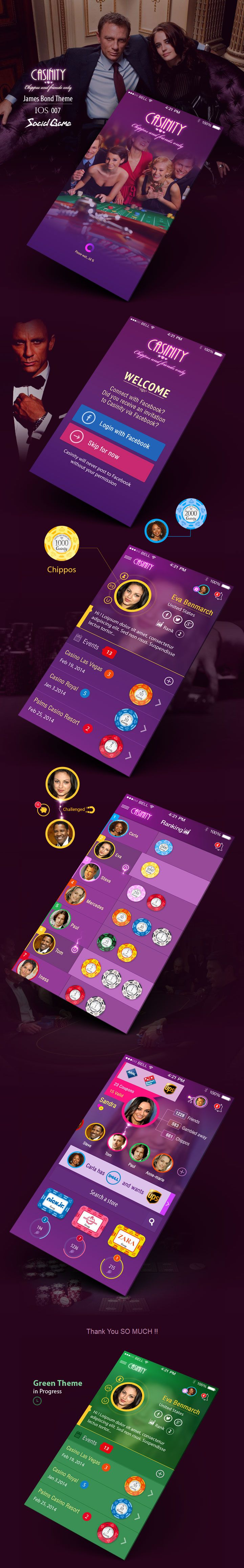 Casino Social Game IOS7