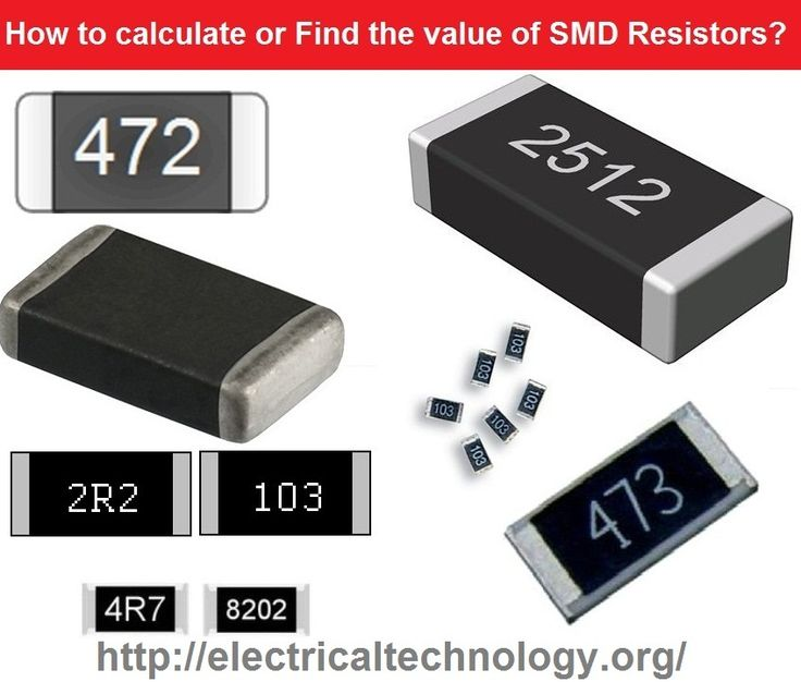 Smd Resistor Codes How To Find The Value Of Smd Resistors