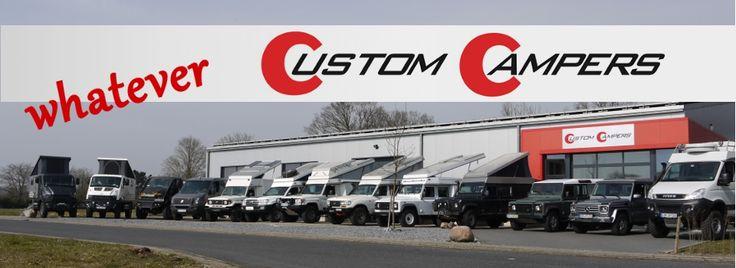 Custom Campers - Land Rover 130 Crew Cab