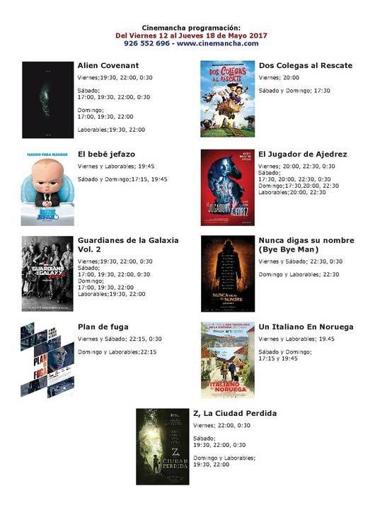Cartelera Cinemancha del viernes 12 al jueves 18 de mayo - https://herencia.net/2017-05-12-cartelera-cinemancha-del-viernes-12-al-jueves-18-mayo/?utm_source=PN&utm_medium=herencianet+pinterest&utm_campaign=SNAP%2BCartelera+Cinemancha+del+viernes+12+al+jueves+18+de+mayo