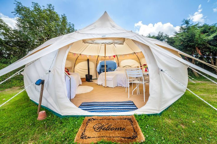 5m Lotus Belle Outback Deluxe LOVE this, perfect for transitional accommodation when we sell the house. Just zip on a cooking option and a composting toilet and I might never leave guys!