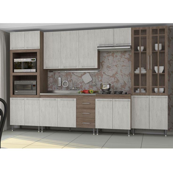 Gostou desta Cozinha Compacta Vitoria 6 Peças Nogal/Salina/Nogal - Indekes  , confira em: https://www.panoramamoveis.com.br/cozinha-compacta-vitoria-6-pecas-nogal-salina-nogal-indekes-5635.html