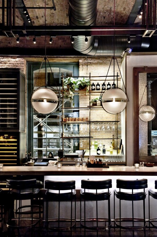 Chefs Club by Food & Wine, New York City designed by Rockwell Group Architects