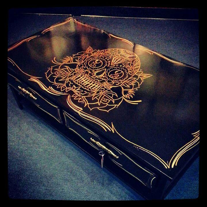 skull table and drawers - 920 Best Images About Skulls On Pinterest The Skulls, Skull