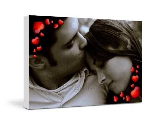 Stampa su tela Frame of love