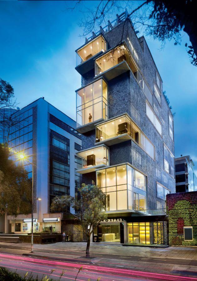 Arquitetura Plan:b _ Hotel Click Clack - Bogotá