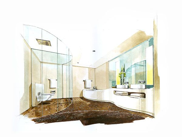 Rate:Color Perspective A3 Price Is 500 650 USD 22handmade@gmail.com. Interior  Design ...