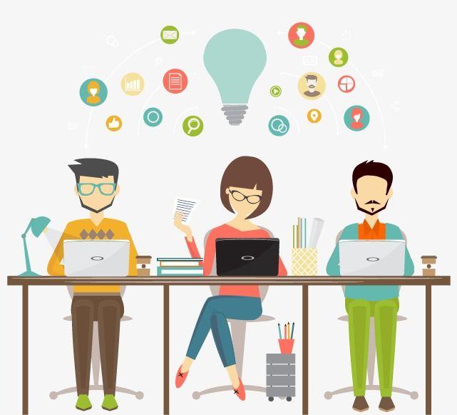 Designer Workplace Office Clerk Png Transparent Clipart Image