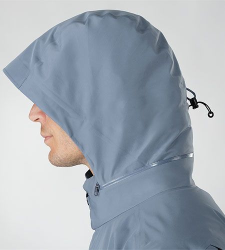 Arc'teryx Veilance Field LT Jacket. Hood with room in the front