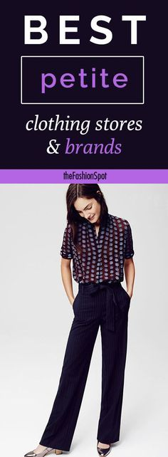 The best petite clothing stores and brands