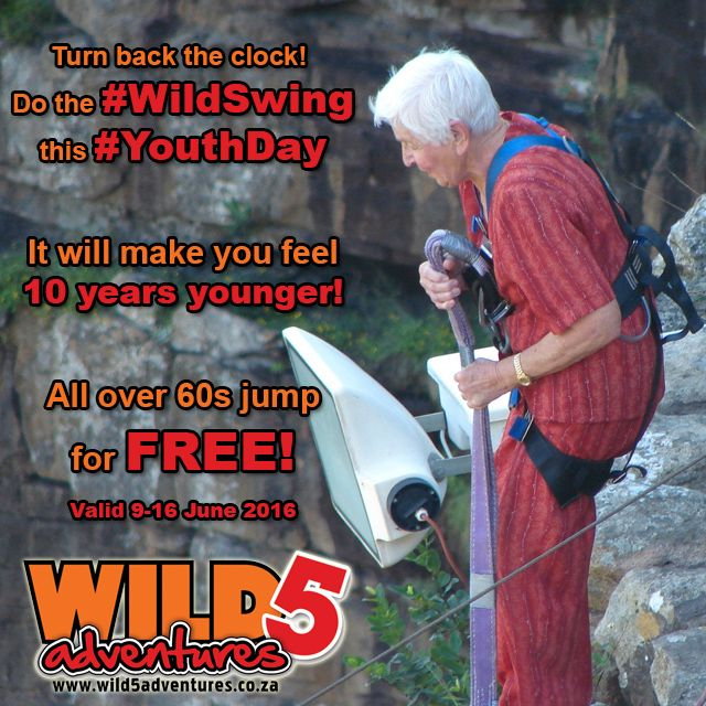 Celebrate #YouthDay with #Wild5Adventures this year!