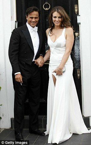 Moving on: Elizabeth Hurley's ex-husband, Arun Nayar (pictured together in 2010), is set t...
