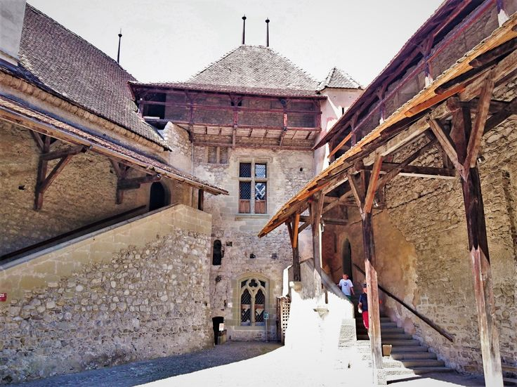 Castle Chillon, Switzerland