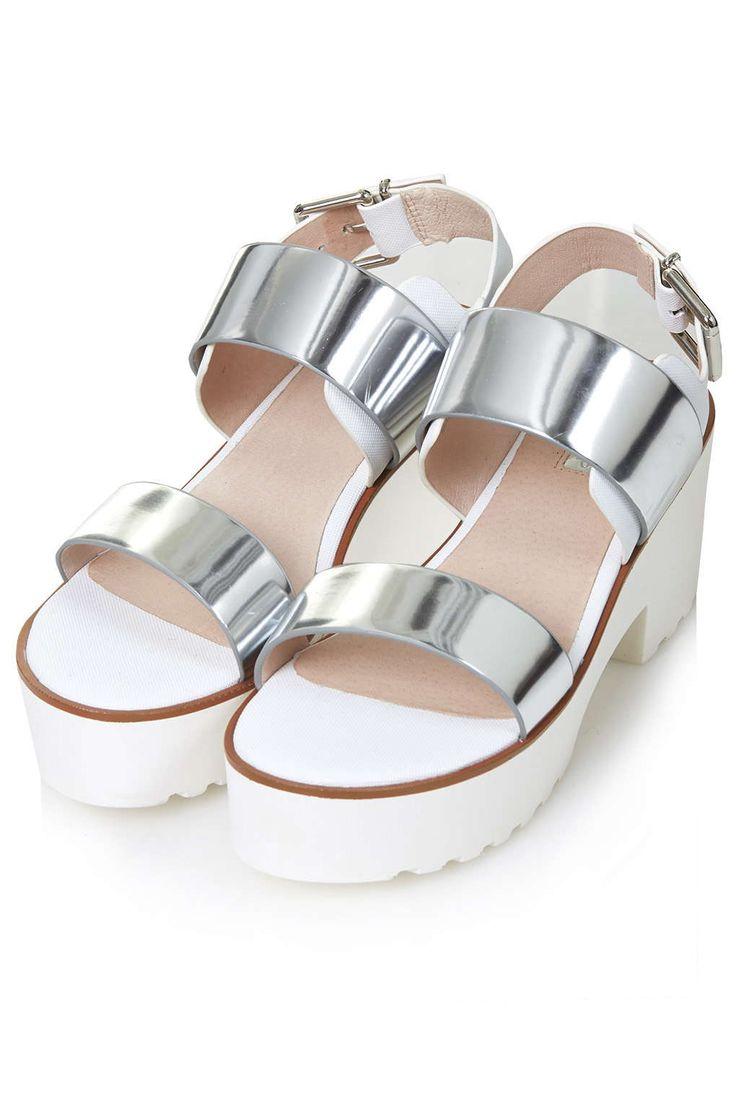 Photo 3 of NINJA Strap Mid-Heel Sandals
