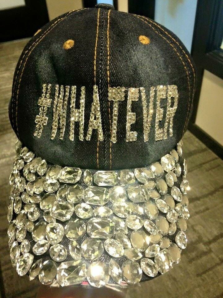 Style your favorite sayings! We bling out hats!  5fe9176772dc