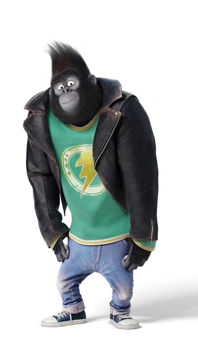 Sing, gorilla johnny, taron egerton, best animation movies of 2016